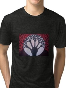 Tree of Life & Death Tri-blend T-Shirt