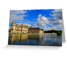Chateau de Chantilly  Greeting Card