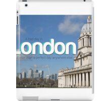 Bad day in London iPad Case/Skin