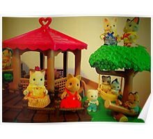 Sylvanian Families ~ Adventure Time Poster