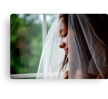 Beautiful Bride!  Canvas Print