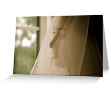 Excited Bride!  Greeting Card
