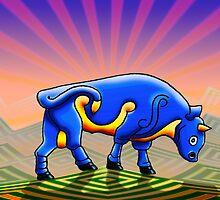 the bull by Matthew Scotland