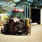 *Large Farm Machinery - Donegan's Farm, Gordon, Vic. by EdsMum
