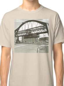 Vintage Wuppertal Floating Train Photo Classic T-Shirt
