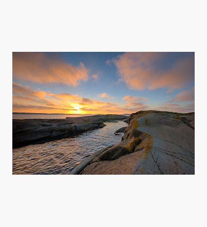 archipelago sunset cove Photographic Print