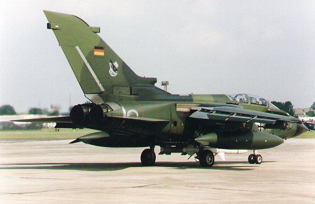 Tornado, German Navy airplane by chord0