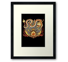 Avatar The Last Airbender Fire Nation Fire Festival Framed Print