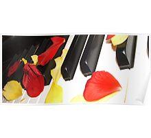 Ivory Petals  Poster