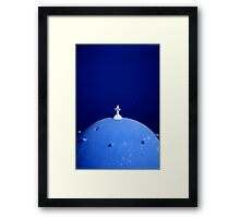 Blue Framed Print