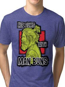 Man Buns Tri-blend T-Shirt