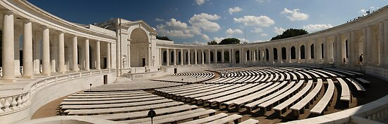 Arlington Amphitheatre, Washington DC, USA by Matthew Walters