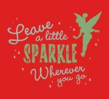 Leave a Little Sparkle Wherever You Go One Piece - Short Sleeve