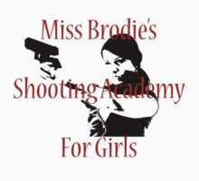 Shooting Academy for Girls by TeeArt