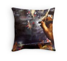 reflections of an addiction Throw Pillow