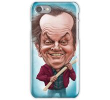 Jack Nicholson caricature iPhone Case/Skin