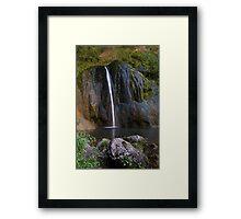 Cascade de Courmes - Gorge du Loup Framed Print