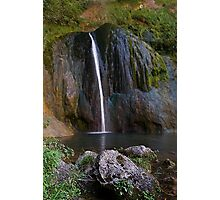Cascade de Courmes - Gorge du Loup Photographic Print