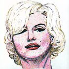 Marilyn Monroe by Arie van der Wijst