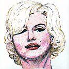 Marilyn Monroe by Arie van der Wijst