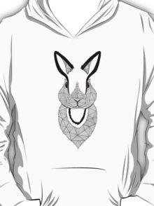 Rabbit black and white T-Shirt
