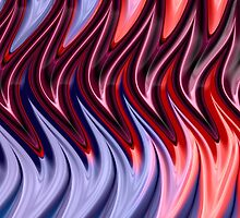 Abstract Flames by John Edwards