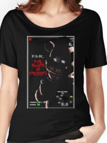 Five Nights at Freddy's  Women's Relaxed Fit T-Shirt