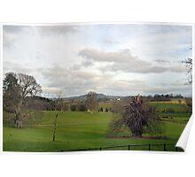 View At Escot Devon UK Poster