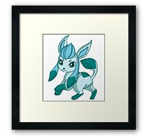 Chibi Glaceon Framed Print