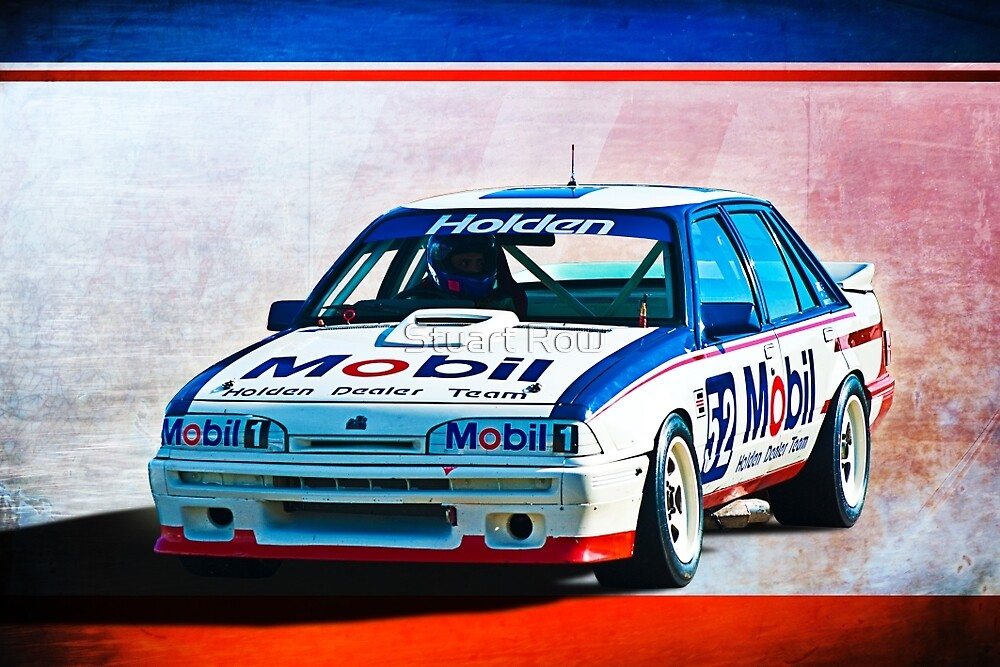 1987 VL Commodore SS Group A by Stuart Row