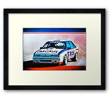 1987 VL Commodore SS Group A Framed Print