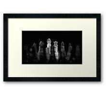 Chess 8: Royal family Framed Print
