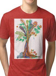 Tree of Life 11 Tri-blend T-Shirt