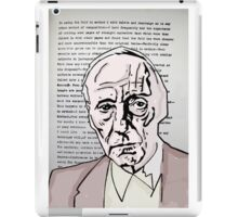 William S Burroughs. iPad Case/Skin