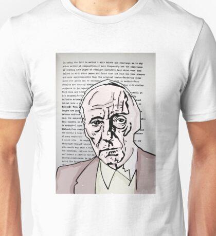 William S Burroughs. Unisex T-Shirt