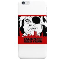 Escape From New York. iPhone Case/Skin