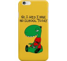 Gaming RÖH (I said I have no school today) iPhone Case/Skin