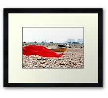 Trail of Red  Framed Print
