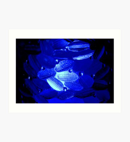 Blue Light Art Print