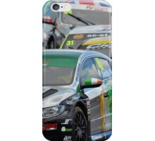 Crowded Race Track iPhone Case/Skin
