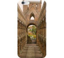 Jedburgh Abbey (2) iPhone Case/Skin