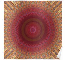 Abstract / Psychedelic / Geometric Artwork Poster