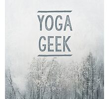 Yoga Geek Photographic Print