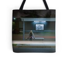 Winter, Time, Waiting. Tote Bag