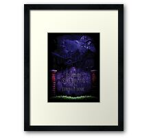 Silence of the Lambs Baltimore State Hospital  Framed Print