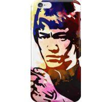 bruce lee karate iPhone Case/Skin
