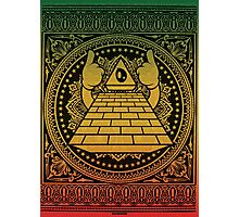 Ultra Pyramid Photographic Print