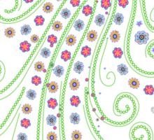 Jellyfish, Flower Of The Sea Sticker