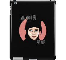 What kind of bird are you? iPad Case/Skin