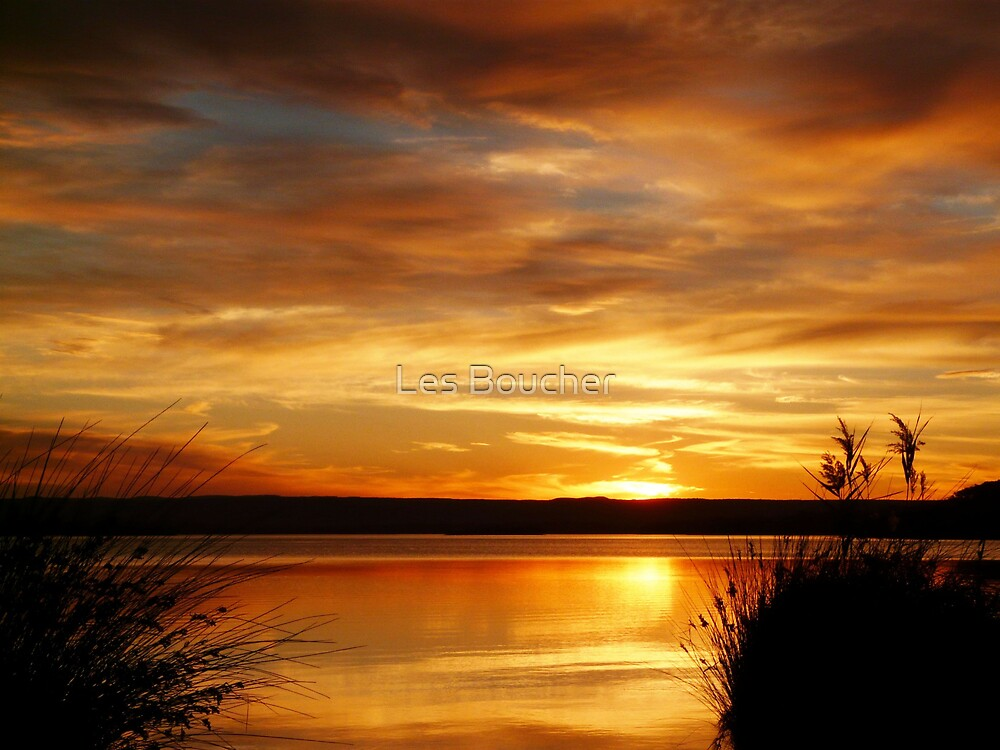 Sunset at Paradise by Les Boucher